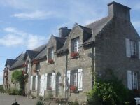 2 Holiday Cottages/Gites in Brittany, France With Swimming Pool 3/5 Bedrooms