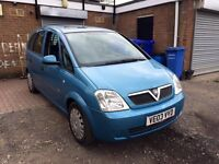 2003 VAUXHALL MERIVA 1.6 ENJOY CHEAP FAMILY CAR CALL ME ONLY