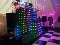 Mobile Disco LED Curtain Show for sale