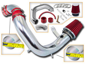 BCP RED 03-05 Neon SRT-4 2.4L Turbo Cold Air Intake Inducton Kit + Filter