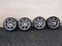 Wheel rims genuine audi 18