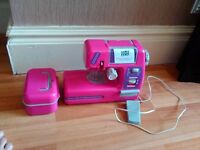 Girls Sewing Machine - Pink - NEVER BEEN USED