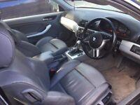 BMW 3 SERIES GREY LEATHER AND SPORTS SEATS. HARMON KARDON CAR