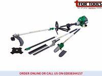 Draper Expert 30cc Petrol 4 in 1 Garden Tool Extension Strimmer pruner chainsaw