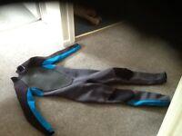 Blue kids ONeill size 12 wetsuit