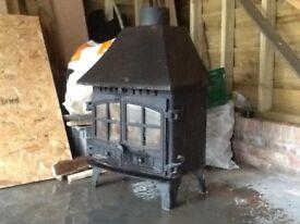 Hunter Herald 8 multifuel stove