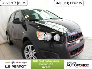 2013 CHEVROLET SONIC 5 LT LT, HATCH, MAGS 15 PO., A/C