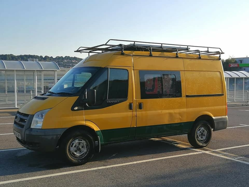 Beautiful Ford Transit Camper Van Conversion Wood Insides