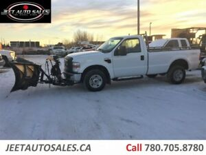 2008 Ford F-250 F250 XL 4X4 with Fischer Snow Plow