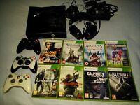 Xbox 360 + 8 top games etc