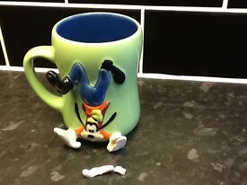 3D Walt Disney Goofy mug