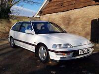 1991 Honda Civic 1.6i-VT UK spec EE9 (like EF9)