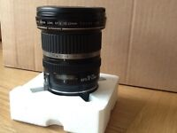 Canon EF-S 10-22mm lens. Great condition, selling because I have changed to rangefinders camera...