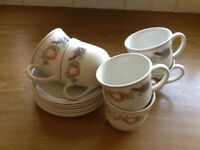 Tea cups ,saucers x small plates