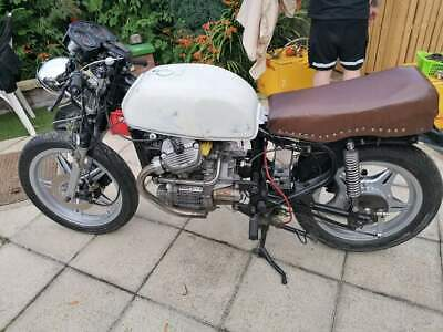 1982 Honda CX500 Cafe Racer unfinished project with 2nd engine & lots of spares