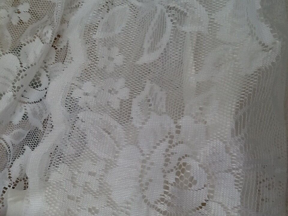 Lace curtains ..(shabby chic)