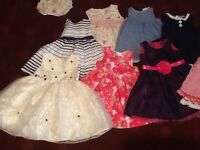 Baby bundle of dresses 12-24 month