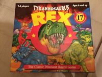 T Rex brand new board game