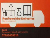 Man and Van - Removals - Waste Uplifts (sofas, tables, washing machines, fridge freezers.