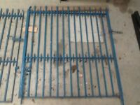 Large set of wrought iron gates for sale