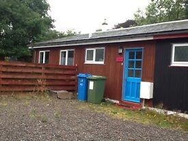 2 bedroom cottage, rural position, water front garden