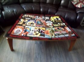 Movie Inspired Coffee Table