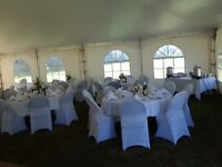 For rent: White Chair Covers