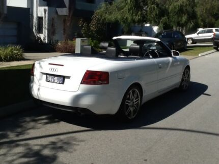 2008 Audi A4 Convertible Cottesloe Cottesloe Area Preview