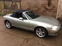 2003 MX5 Nevada FOR SALE - great little car that needs some attention, sad to be selling.