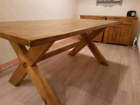 Dinning table and matching sideboards