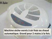 Machine sèche vernis ongles manucure air chaud froid nail dryer