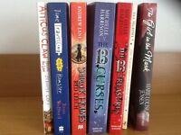 Various teenagers paperback books