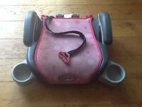 Graco Booster Seat with Intuitive Belt Routing