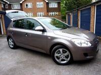 SALE!!! Lowered PRICE £2 790 Kia Cee'd 2009 1.6 Auto, petrol, low mil 39 000 GREAT FIRST CAR