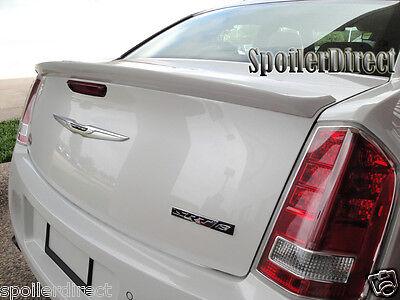 (2011-2017 Chrysler 300 SRT SRT8 Rear Spoiler Factory Lip Style - Primer Finish)