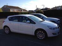 White Vauxhall 1.4i 16v Exclusiv Astra *LOW MILAGE* petrol