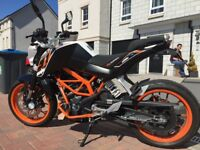 2013 KTM DUKE 390 with loads of extras