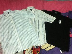 3x Men's Medium Collared Shirts - Ralph Lauren + Bonia Acacia Ridge Brisbane South West Preview