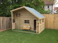 SHEDS SHEDS SHEDS SUMMERHOUSES PLAYHOUSES GARAGES HOTTUB HUTS MAN HUTS FENCING DECKING