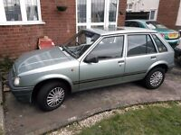 CLASSIC 1991 VAUXHALL NOVA 1.4 LUXE RARE IN THIS CONDITION