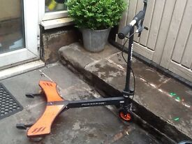 Childrens power wing scooter