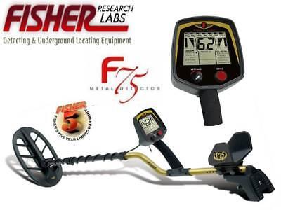 Fisher F75 Metal Detector w/ 11