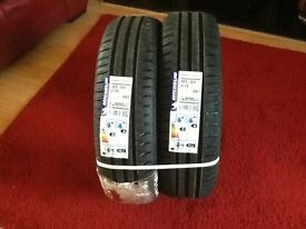 2x Michelin tyres size 185/65 R 15 88T for sale (NEW)