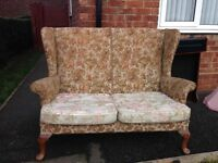 Free to collector,Parker knoll two seater
