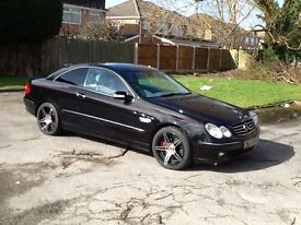 MERCEDES 240 CLK COUPE LOW MILES .PRIVATE PLATE