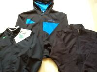 Nike, le coq sportif and slazenger, 3 lightweight sports jackets suitable for 152-158 cm