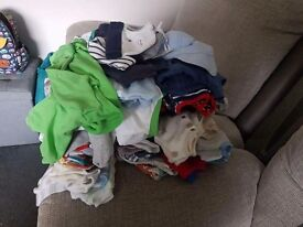 Large bundle newborn & up to 1 month clothes