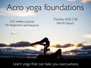 Acro Yoga Foundations North Beach Stirling Area Preview