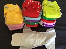 All in two OSFM modern cloth nappies bulk pack Tumut Tumut Area Preview