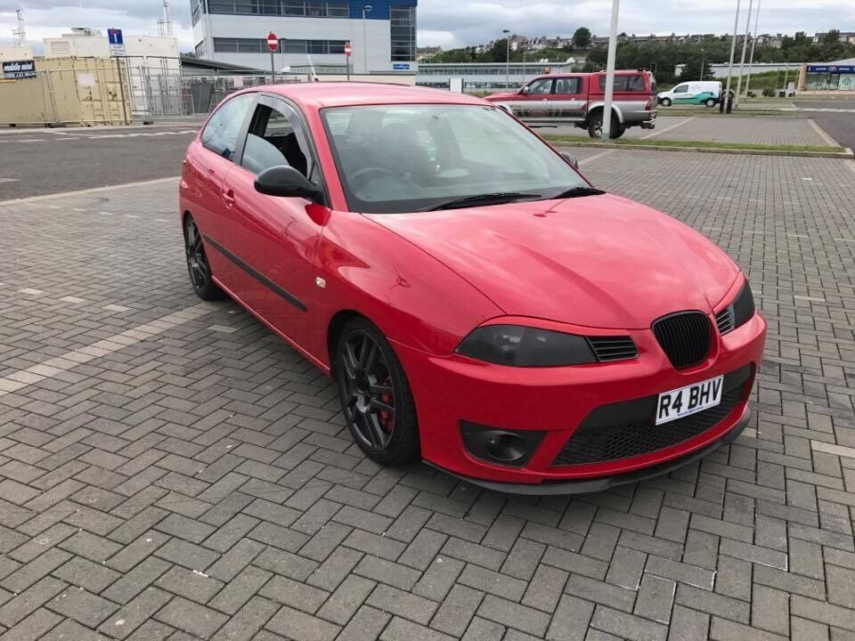 seat ibiza cupra 6l 20v not fr boccanegra vxr gti vrs in kennoway fife gumtree. Black Bedroom Furniture Sets. Home Design Ideas